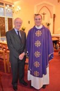 John Hubert Cox and Bishop John Arnold